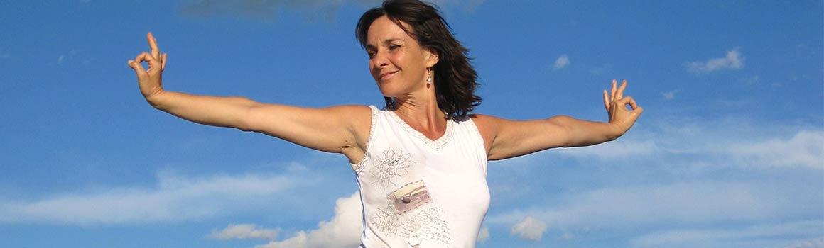 Yoga-Haltung: Herz-Öffnung im Yang Yoga